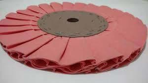 Disco para polir aço inox
