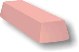 Massa para polir cromados