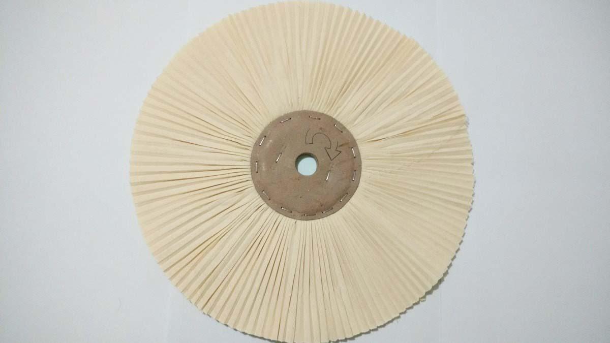 Roda de polir acrílico